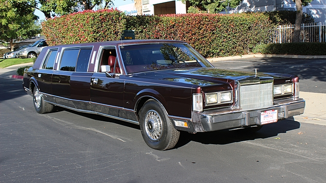 Classic Lincolns View Topic 1988 Lincoln Town Car Limousine