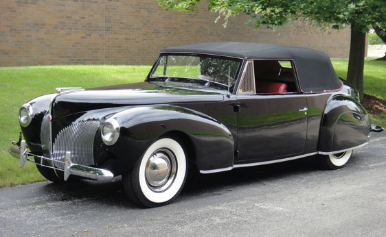 classic lincolns view topic 1940 lincoln zephyr. Black Bedroom Furniture Sets. Home Design Ideas