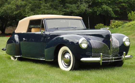 classic lincolns view topic 1940 lincoln zephyr convertible. Black Bedroom Furniture Sets. Home Design Ideas