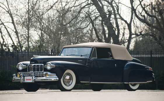 classic lincolns view topic 1948 lincoln continental v12 convertible. Black Bedroom Furniture Sets. Home Design Ideas