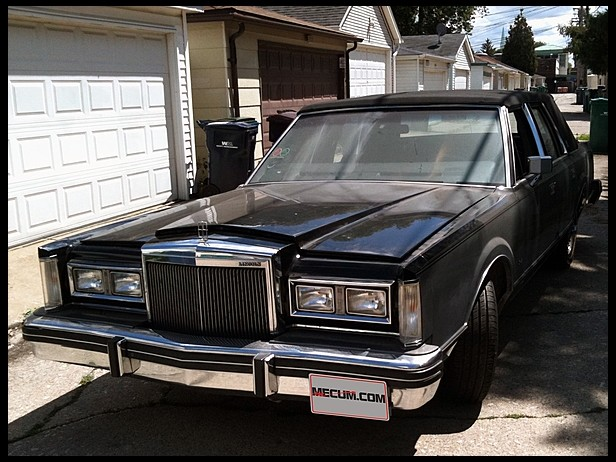 Classic Lincolns View Topic 1984 Lincoln Town Car