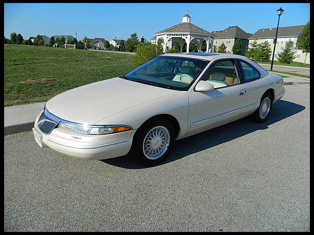 sold 1995 lincoln mark viii at mecum schaumburg il 2013. Black Bedroom Furniture Sets. Home Design Ideas